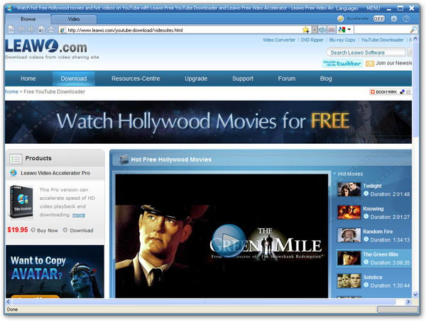 watch hollywood movies for free