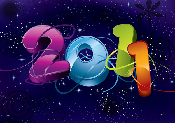 New Year 2011 Wallpapers 9