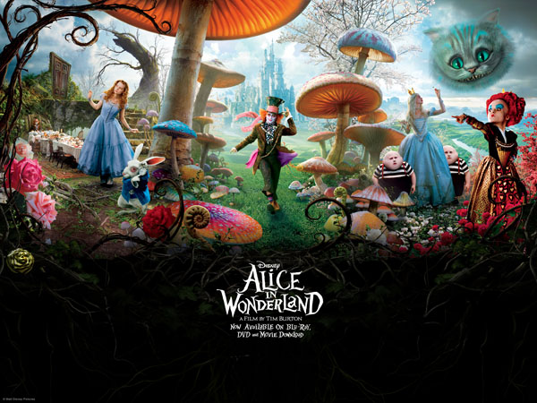 Convert Alice in Wonderland video to iPhone MP4 format