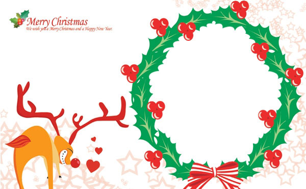 Christmas Greeting Cards Templates Maggilocustdesignco - Christmas greeting card template