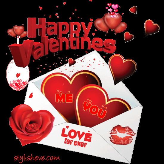 Free Download Valentines Day Card Templates Video Downloading And