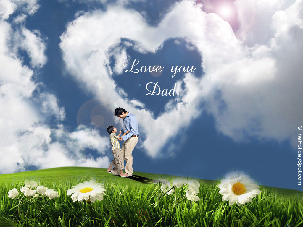 Funny Love Wallpaper For Fb : 2012 Happy Father s Day Free Wallpapers and cards Video Downloading and Video converting Free Zone