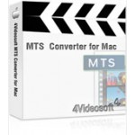 4Videosoft MTS Converter for Mac