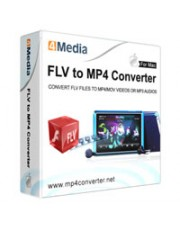 4Media FLV to MP4 Converter for Mac