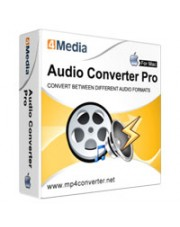 4Media Audio Converter Pro for Mac