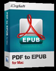 iOrgsoft PDF to Epub Converter for Mac