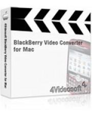 4Videosoft BlackBerry Video Converter for Mac