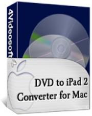 4Videosoft DVD to iPad 2 Converter for Mac