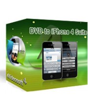 4Videosoft DVD to iPhone 4 Suite