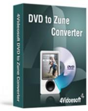 4Videosoft DVD to Zune Converter