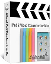 4Videosoft iPad 2 Video Converter for Mac
