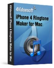 4Videosoft iPhone 4 Ringtone Maker for Mac