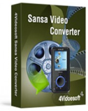 4Videosoft Sansa Video Converter
