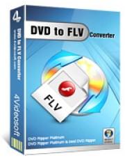 4Videosoft DVD to FLV Converter