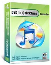 4Videosoft DVD to QuickTime Converter