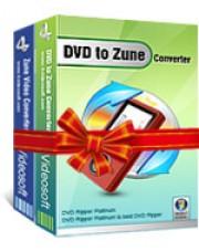 4Videosoft DVD to Zune Suite