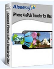 Aiseesoft iPhone 4 ePub Transfer for Mac