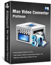 4Videosoft Video Converter Platinum for Mac