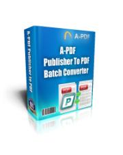 A-PDF Publisher to PDF